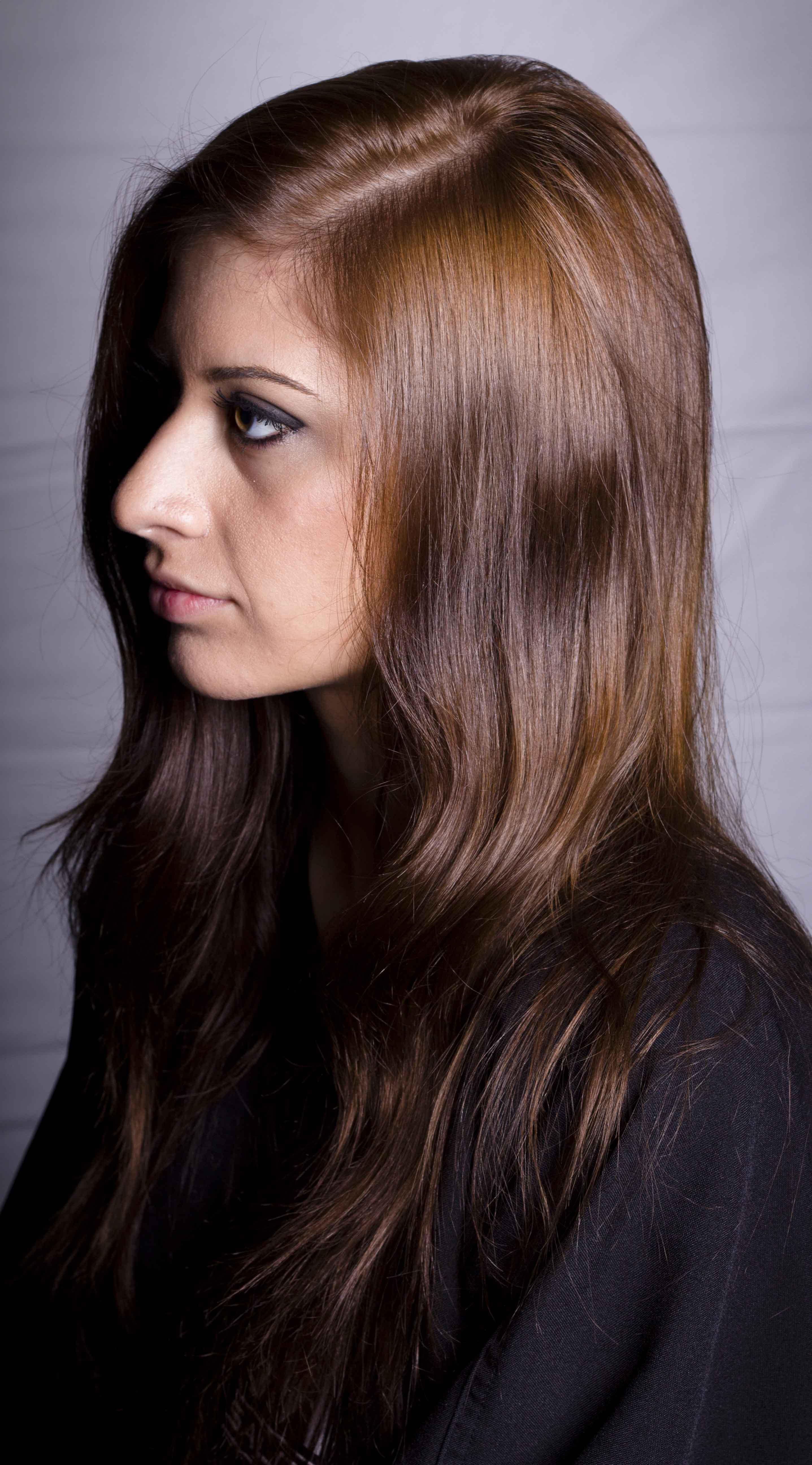 Orange Brown Hair Color | Dark Brown Hairs
